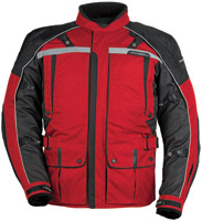 Tour Master Men's Red and Black Transition Series 3 Jacket