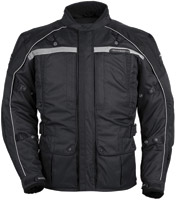 Tour Master Men's Black Transition Series 3 Jacket