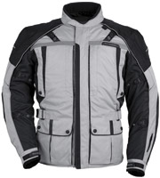 Tour Master Women's Silver and Black Transition Series 3 Jacket