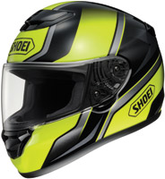 Shoei Qwest Overt Yellow and Black Fu