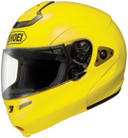 Shoei Multitec Brilliant Yellow Modular Helmet