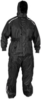 River Road Black Tempest 2-Piece Rain Suit