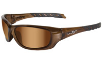 Wiley X Gravity Sunglasses with Bronze Flash Lens