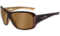 Wiley X Abby Espresso Brown Frame Sunglasses