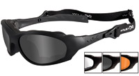 Wiley X XL-1 Advvanced Matte Black Frame Changeable Sunglasses
