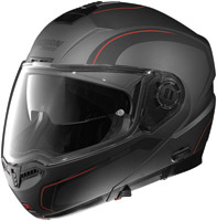 Nolan N104 Action Flat Gray, Red and Black Modular Helmet