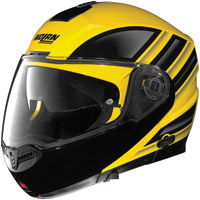 Nolan N104 Voyage Yellow and Black Modular Helmet