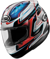 Arai Corsair V Dani Red, White and Blue Full Face Helmet