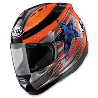 Arai Corsair V Disalvo Red Full