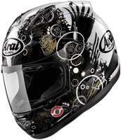 Arai Corsair V Fiction Black Full Face Helmet