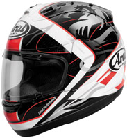 Arai Corsair V Takahashi 3 Black and White Full Face Helmet