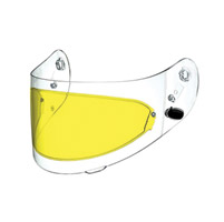 Arai Pinlock Insert Yellow Faceshield for Corsair V/Vector-2/RX-Q Helmets