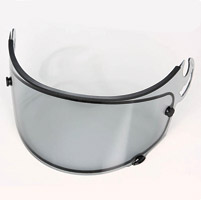 Arai Dual Shield Light Smoke Faceshield for Corsair V/Vector-2/RX-Q Helmets