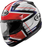 Arai Signet-Q Superstar Red Full Face Helmet