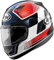 Arai Signet-Q Racer Red Full Face Helmet