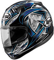 Arai Signet-Q Flash Blue Full Face Helmet