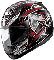 Arai Signet-Q Flash Red Full Face Helmet