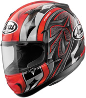 Arai RX-Q Ace Red Full Face Helmet
