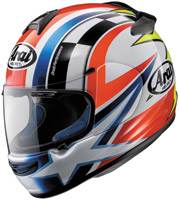 Arai Vector-2 Schwantz Red, White and Blue Full Face Helmet