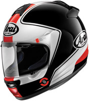 Arai Vector-2 Stage Black and White Full Face Helmet