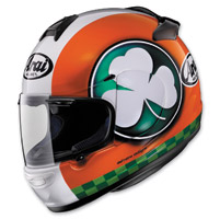 Arai Vector-2 Blarney Red, White and Green Full Face Helmet