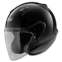 Arai XC Diamond Black Open Face
