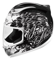 ICON Airframe Street Angel Black Full Face Helmet