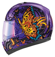 ICON Alliance Chrysalis Purple Full Face Helmet