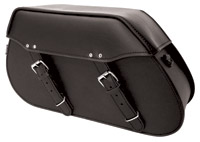Edge Model 102 Plain Lockable Saddlebags by Kuryakyn