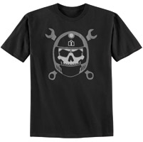 ICON Black Busted and Broken T-shirt