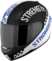 Speed and Strength SS700 Top Dead Center Blue Full Face Helmet