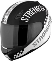Speed and Strength SS700 Top Dead Center Gray Full Face Helmet