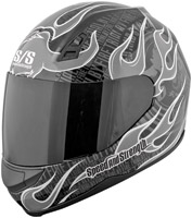 Speed and Strength SS700 Trial By Fire Silver Full Face Helmet
