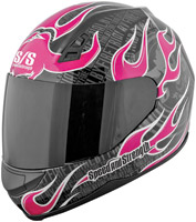 Speed and Strength SS700 Trial By Fire Pink Full Face Helmet