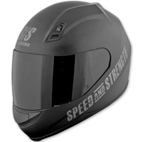 Speed and Strength SS700 Go For Broke Black Full Face Helmet