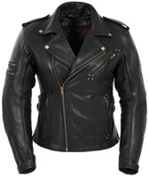 Pokerun Marilyn Women's Leather Jacket