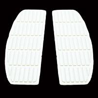 Jammer White Floorboard Mats