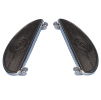 J&P Cycles® Standard Oval Floorboards