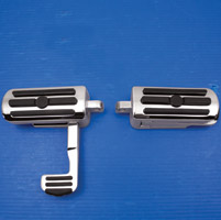 J&P Cycles® Chrome Footpeg Set