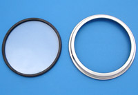 V-Twin Manufacturing Speedo Bezel and Lens Kit
