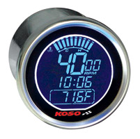 Koso DL Style Universal Electronic Tachometer