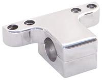 Yankee Engineuity Slimline Tach and Speedo Chrome Mount with 4 Indicator Light Holes