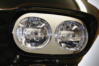 Hell's Foundry Headlight Chrome Faceplate for Road Glide