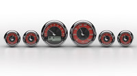 Medallion Instrumentation Systems Tradition Gauge Set