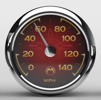 Medallion Instrumentation Systems Classic Gauge Set for  Touring Models