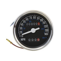 V-Twin Manufacturing 140 MPH Speedometer