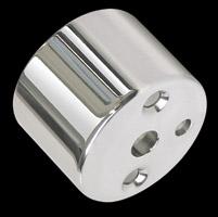 Yankee Engineuity 2-5/8″ Mechanical 'Mini' Tachometer/Speedometer Chrome Gauge Cup