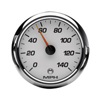 Medallion Instrumentation Systems Racing White Gauge Set