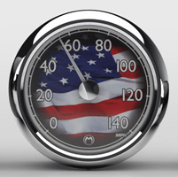 Medallion Instrumentation Systems USA Premium Gauges for Touring Models