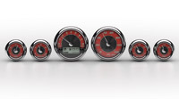 Medallion Instrumentation SystemsTradition Premium Gauges for Touring Models